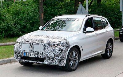 Обновленный BMW X3 поймали фотошпионы