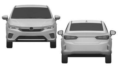 Honda запатентовала в РФ бюджетный седан City