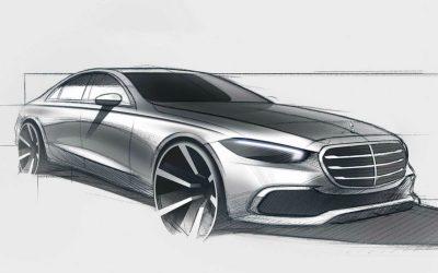 Mercedes раскрыл внешность нового S-Class
