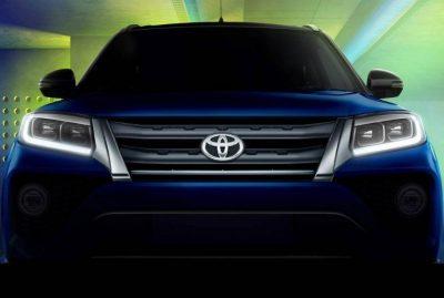 Тизер нового кроссовера Toyota Urban Cruiser