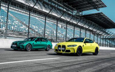 BMW представила заряженные седан M3 и купе нового поколения M4.