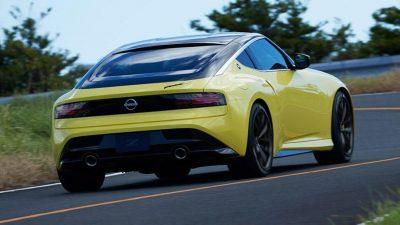 Nissan раскрыл дизайн нового спорткара
