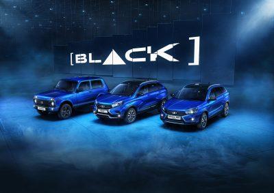 30 октября стартуют продажи еще двух моделей специальной серии [BLACK]: 4х4 и XRAY Cross.