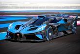 Компания Bugatti показала трековый гиперкар Bolide, созданный в соответствии с техническими требованиями