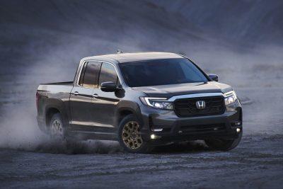 Honda представляет рестайлинг Ridgeline