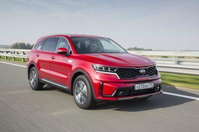 Новый Kia Sorento поступили в продажу в РФ