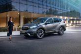 В России начались продажи обновленного кроссовера Honda CR-V