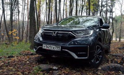 Новая Honda CR-V 2020