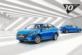 Стоимость юбилейной версии Hyundai Solaris для РФ