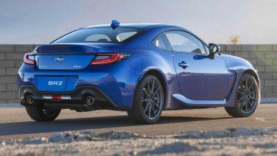 Представлен новый Subaru BRZ