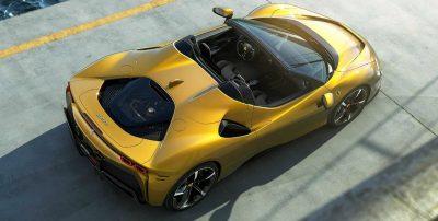 Компания Ferrari представила открытую версию нового флагманского суперкара SF90, которая получила название Spider.