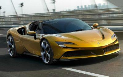 Ferrari представила самый мощный кабриолет в своей истории
