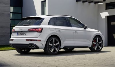 Audi обновила кроссовер SQ5