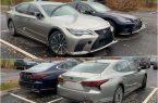 В Москве сфотографированы обновлённые Lexus LS