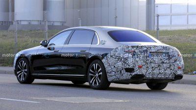 Новый Mercedes-Maybach S-Class почти без камуфляжа.