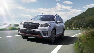 Российские цены на спортивный Subaru Forester Sport