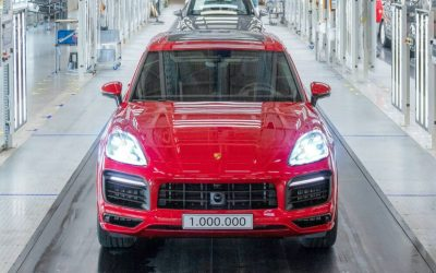 Porsche выпустила миллионный Cayenne