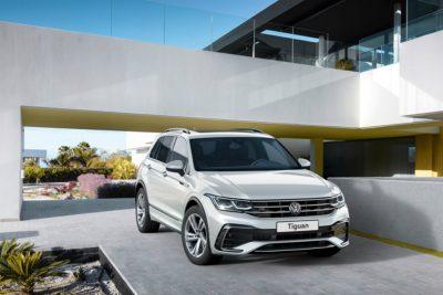 Российские цены на обновленный Volkswagen Tiguan