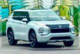 Новый Mitsubishi Outlander рассекречен