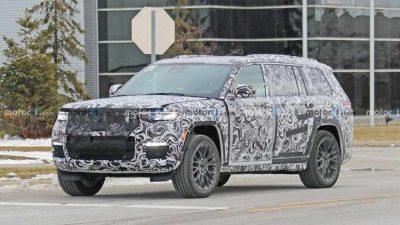 Jeep вывел на тесты трехрядный Grand Cherokee 2022 года