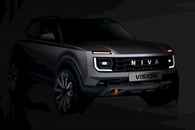 Новая Lada Niva засветилась в трансляции