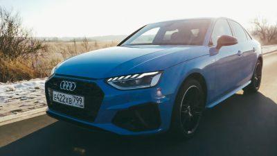 Новая Audi A4. Тест-Драйв Новой Ауди А4 2020