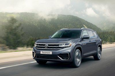 Российский офис Volkswagen анонсировал появление в салонах дилеров нового кроссовера Teramont весной 2021 года.