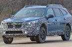 Subaru вывел на тесты новую версию Outback