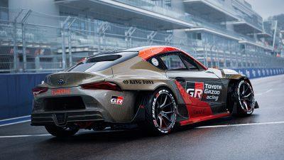 Компания Toyota представила GR Supra для дрифта в РФ