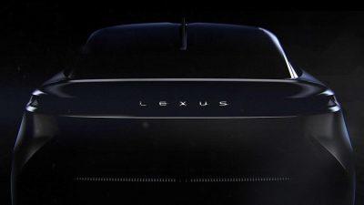 Тизер загадочного электрокара от Lexus