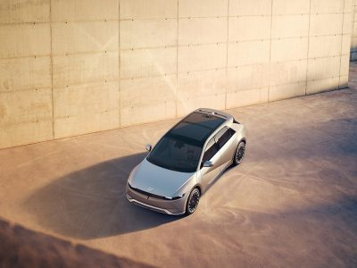 Hyundai представила электрический кроссовер Ioniq 5