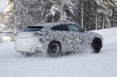 Lamborghini вывела на тесты обновленный Urus
