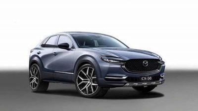 Mazda CX-50 показали на первых рендерах