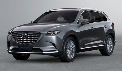 Цены на обновленную Mazda CX-9 для России