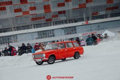 Зимний дрифт на Мордовия Арена!