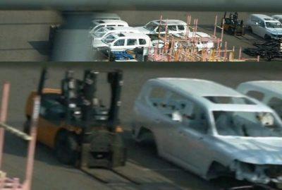Toyota Land Cruiser 300: новые фотографии