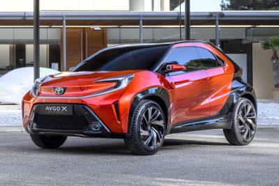 Toyota показала Aygo X prologue