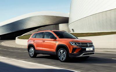 Новый бюджетный кроссовер VW Taos для РФ