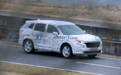 Honda вывела на тесты новое поколение CR-V