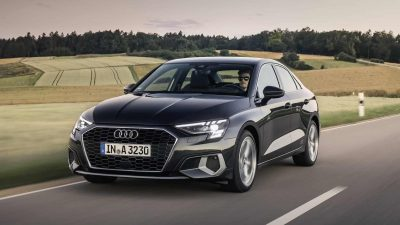 Российские продажи Audi A3 нового поколения