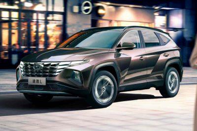 Hyundai представил обновленный Tucson L