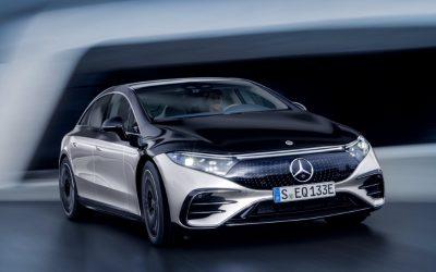 Mercedes-Benz рассекретил электромобиль EQS