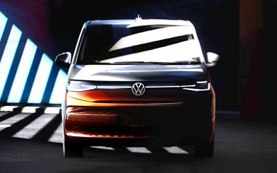 Volkswagen показал салон нового Multivan