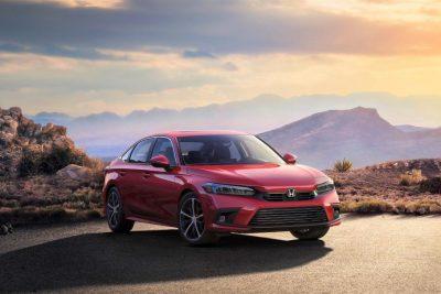 Новый седан Honda Civic 2022 года