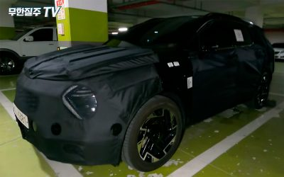 Новый Kia Sportage показали на видео