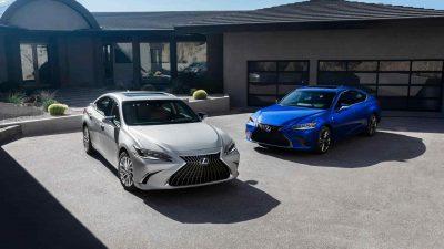В Китае показали обновленный Lexus ES