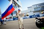 Российский флаг на кубке FIA по дрифту