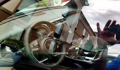 Hyundai Santa Cruz сфотографировали на парковке