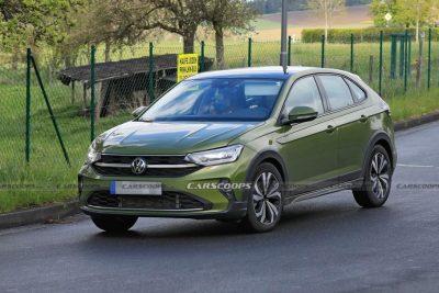 Volkswagen Taigo сфотографировали без камуфляжа