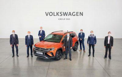 Volkswagen Taos начали собирать в России